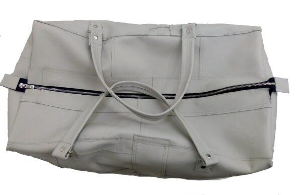 travel bag gray